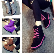 Fashion Womens Ankle Boots  Fur Winter Warm Thicken Shoes Snow Boots