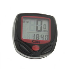 NEW Bike Cycling Computer LCD Odometer Speedometer Stopwatch SD-548B JS