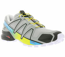 NEW Salomon Speedcross 4 Men's Shoes trail-running shoes Trainers Grey