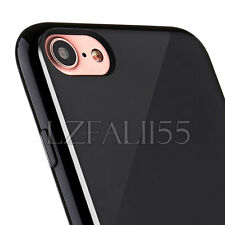 Ultra Thin TPU Bumper Case for APPLE iPhone Models JET BLACK Silicone Skin Cover