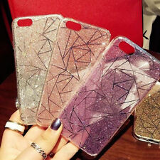 Luxury TPU Bling Stars Glitter Sparkle Hard Back Case Cover for iPhone 7 6S Plus