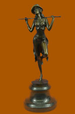Bronze Sculpture Original Chorus Line Dancer Statue Figurine Figure