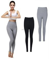 Womens Yoga Fitness Leggings Gym Exercise Sports Running Stretchy Pants Trousers