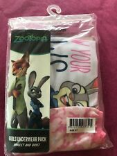 GIRLS' DISNEY ZOOTOPIA UNDERWEAR SET