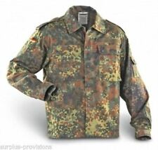 German Army Flecktarn Camo Shirt ( Choice of Size ) Military Surplus