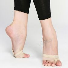 Ballet Protect Foot Thong Toe Half Lyrical Shoe Undies Dance Forefoot Cover Care