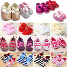 Baby Kid Toddler Prewalker Crib Shoes Girl Princess Party Summer Sandals Loafers