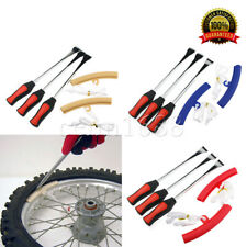 Spoon Motorcycle Tire Iron Changing Rim Protector Tool Combo New Lever Three Pcs