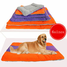 Extra Large Size Fleece Pet Dog Cat Puppy Bed Mat Pad Kennel Cushion House MM