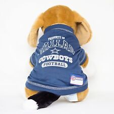 Dallas Cowboys Dog Shirt NFL Football Officially Licensed Quality Pet Product