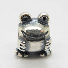 Authentic Genuine S925 Sterling Silver FROG CHARM Bead