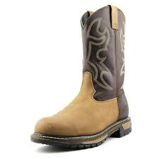 Rocky 6732 Branson Roper Steel Toe Men Round Toe Leather Brown Work Boot