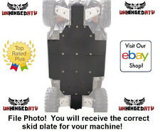 "UMHW Tusk Quiet-Glide Skid Plate 3/8"" – Fits: Arctic Cat WILDCAT 1000i H.O. 2012"