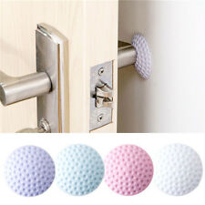 2pcs Mini Door Crash Pads Anti-collision Mute Doorknob Thick Wall Door Knob Mats