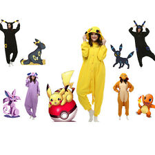 Adult-Pokemon-Unisex Pajamas Kigurumi Cosplay Costume Animal Onesie Sleepwear+++