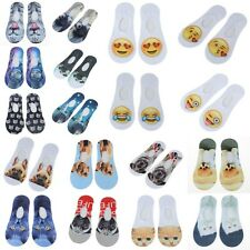 Creative 3D Animal Printed Cotton Socks Fashionable Womens Girls Ankle Socks