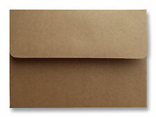 Kraft Grocery Bag Brown 70lb. Envelopes for Invitations Announcements A2 A6 A7