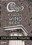 Chicago / Earth Wind & Fire: Live at the Greek Theatre DVD, New & Sealed 2 Discs