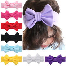 Baby Kids Girl Flower Floral Bow Hairband Knot Headband Headwear Accessories