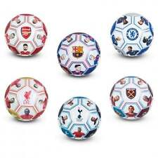 Official Football Players Photo Signature Ball Size 5 Soccer Footy New Xmas Gift