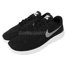 Nike Free RN GS Run Black Silver Kids Youth Running Shoes Sneakers 833989-001