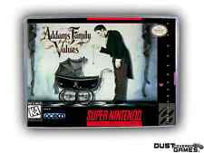 Addams Family Values Super Nintendo SNES Game Case Box Professional Quality!!!