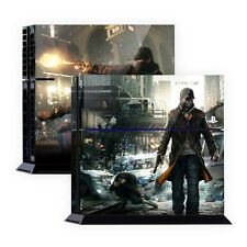Skin Sticker For PS4 Skin Tuning Mapping Elaborated POP SKIN WATCH DOGS #01