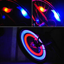 Safety Bike Bicycle Cycling Car Wheel Tire Tyre LED Spoke Light Lamp Divine