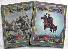 2 Forgotten Realms Advanced Dungeons & Dragons AD&D DM's Sourcebook & Cyclopedia