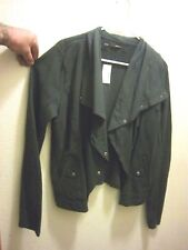 New W/Tags! Maurices Women's Fashion Jacket Light Weight Black Charcoal Coat!