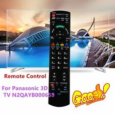 Replacement TV Controller Remote Control for Panasonic 3D TV N2QAYB000659 F#