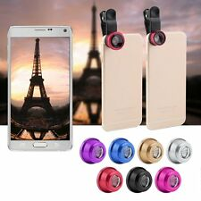 3 in1 Fish-Eye+ Wide Angle + Macro Camera Clip-on Lens for iPhone 6/Plus/5S/5 DC