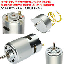 DC Micro Magnetic Motor High-power Torque 2 Terminals Connector Gearbox Electric