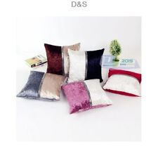 Modern Assorted Color Square Pillow Case Cushion Cover Home Bedroom Sofa Decor