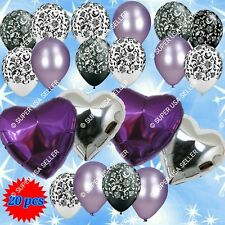 Wedding Bridal Shower Debut Valentines Balloons Decor Birthday Party Supplies B