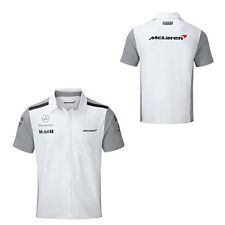 TEAM MCLAREN MERCEDES MENS TEAM SHIRT FORMULA 1 SIZE SMALL ONLY