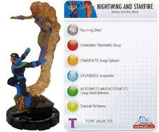 Nightwing and Starfire #58 Crisis DC Heroclix NM