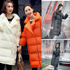 Women Winter Down Jackets Long Collar Thick Lady Slim Padded Coat Parka Hot 2017