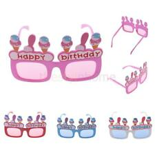 Happy Birthday Ice-cream Novelty Funny Party Sunglasses Birthday Theme Glasses