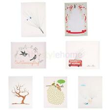 Party Wedding Fingerprint/ Thumbprint Tree + Inkpad for Signature 40*60/30*40cm
