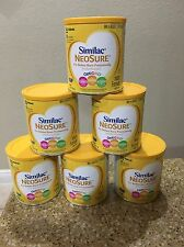 (6) Similac Neosure Infant Formula With Iron ,Exp.10/01/2018