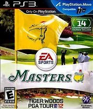 Playstation 3 Tiger Woods PGA Tour 12: The Masters New