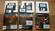 Rare vintage 'Doom' 1 & 2 PC add-on levels and editors - 1994 - id Software