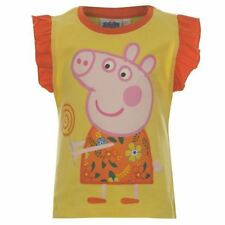 """PEPPA PIG GIRLS SHORT SLEEVED """"LOLLY"""" T-SHIRT - BRAND NEW WITH TAGS (RRP £9.99)"""