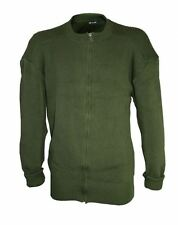 New Swedish Army OD Green Wool Sweater ( Choice of Size ) Military Surplus