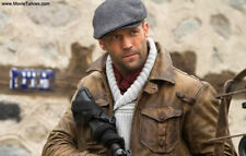Genuine Distressed Leather The Expendables 2 Jason Statham Jacket