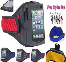 Sports Gym Running Jogging Armband Case Cover Stand For Samsung Galaxy J3 UK