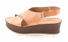 Kenneth Cole Womens MILA Leather Open Toe Casual Strappy Sandals