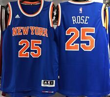 DERRICK ROSE NEW YORK KNICKS AWAY ROAD SWINGMAN 2016/17 NBA NEW JERSEY NWT