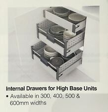 Blum Internal kitchen Drawer with Soft Close 300mm 400mm 500mm 600mm and 900mm
